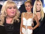 Not amused! Miley Cyrus and Britney Spears ban Rebel Wilson from making jokes about them at the iHeart Music Festival
