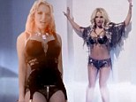 Sneak peek: Britney Spears shows off super svelte physique in array of underwear in VERY sexy teaser for Work B**** video