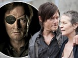 The Governor is back! Stills from season four of The Walking Dead reveal a new romance in the prison... as the threat of their greatest enemy looms in the shadows