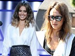 She's still figuring out her shorter style! Jessica Alba has both a bad hair day AND night after debuting her new cut
