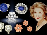 International best selling author Barbara Taylor Bradford and her bling