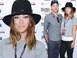 Olivia Wilde and Jason Sudeikis attend charity event in New York
