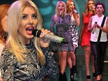 Mollie King is reunited with The Saturdays after hosting catwalk event in Birmingham