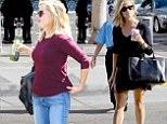 Quick change! Fashionista Reese Witherspoon offers two different day looks as she runs errands in Los Angeles