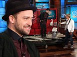 'I might have to smart off more often!' Ellen DeGeneres puts Justin Timberlake in the doghouse after he makes fun of Jessica Biel