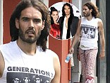 Russell Brand flaunts his cash while ex Katy Perry opens up about their relationship