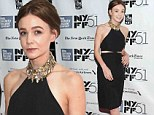 Carey Mulligan stuns at the premiere of her latest film in New York