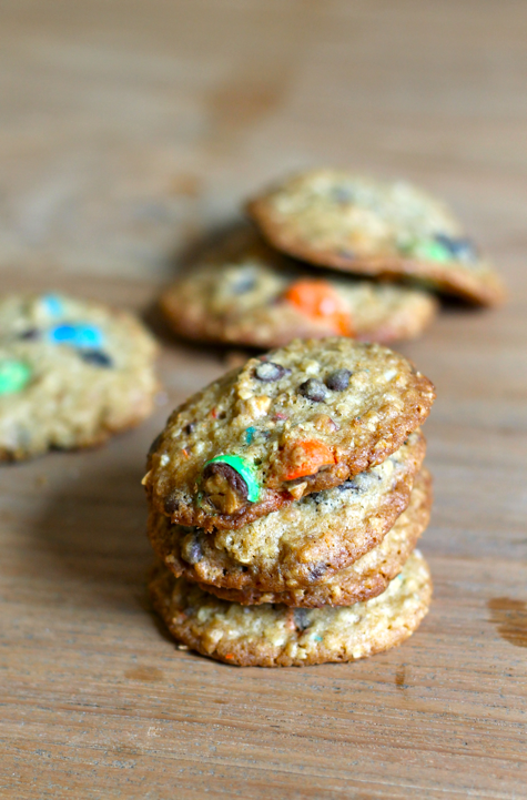 trail mix cookies - sundays with jennie