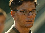 Going all out: Jeremy Irvine agreed to be water-boarded while playing World War II hero, second lieutenant Eric Lomax in The Railway Man, pictured