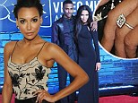 Glee starlet Naya Rivera engaged to rapper Big Sean...shows off diamond sparkler at Latina Magazine party