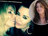 Kyle Richards snubs former friend Lisa Vanderpump by dining out with new BFF Brandi Glanville opposite her restaurant Sur