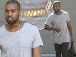 Just like Kim! Kanye West spotted wearing touching nameplate necklace for daughter Nori