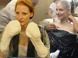 'I was completely helpless': Jessica Chastain immortalizes her taut figure with body-cast for Crimson Peak