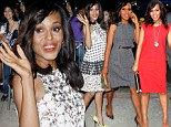 Four outfits in one day: Kerry Washington pulls out all the stops as she hits the promotional trail for Scandal in New York