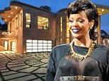 Trespasser arrested at Rihanna's $12million home after being caught scaling the wall following a series of attempted break-ins