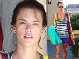 How does she do it? Alessandra Ambrosio still looks good as she leaves a yoga class make-up free and covered in sweat