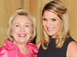 The Clinton-Bush Family: Jenna Bush-Hager was the host of a charity gala in New York earlier this week, where she announced she was 'related' to Hillary Clinton through marriage to her uncle Bill - George W Bush's 'brother from another mother'