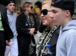 She is turning to her children for support! Following her startling confession, Madonna finds strength in her family