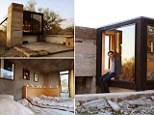 Take a look inside the micro-home an architecture student built in the middle of the desert, with just enough room for a bed