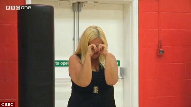 All a bit much? Vanessa was so overcome with emotion that she broke down in tears on numerous occasions during rehearsals
