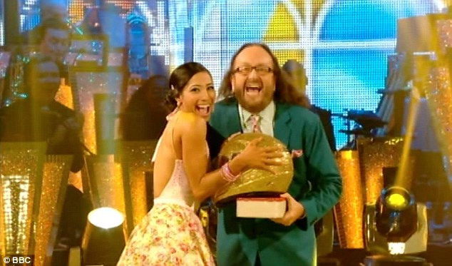 Out to impress: After being slated by the judges for his performance on last week's show, Hairy Bikers star Dave Myers was determined to prove them wrong