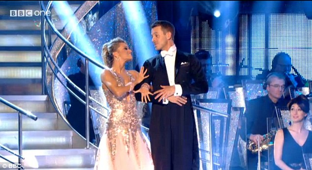 Talented pair: Ashley and Ola received plenty of positive comments from the judging panel after their flawless routine