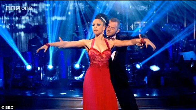 Elegant: Craig said of the dance: 'I was moved, a gorgeous top line, fantastic rise and fall. Breathtaking!'