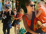 Family fun! Nicole Richie and Joel Madden get ready for Halloween by taking their adorable kids to the pumpkin patch