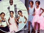 Diddy is a proud daddy as his daughters walk the catwalk in their modeling debut
