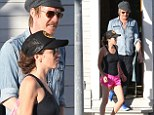 Anna Friel and Rhys Ifans step out in Venice