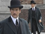 Dressed to save lives! Clive Owen is a dashing gentleman on set of new hospital period drama for Cinemax
