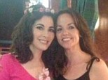 Nigella Lawson, left, and make-up artist Tricia Woolston