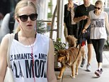 It's a dog's life for Amanda Seyfried as she emerges from a gruelling gym session... then takes Finn for a workout of his own