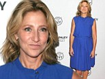 Television star: Edie Falco attended a screening of her Showtime show Nurse Jackie on Sunday at the Paley Fest in New York City