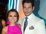 'David Gandy and Samantha Barks split due to packed schedules' after dating for five months