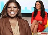 This means war! Queen Latifah wins the battle over daytime ratings as Bethenny Frankel's chat show lags behind