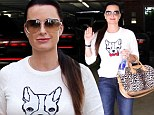 Kyle Richards goes for doggy chic