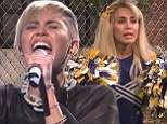Miley Cyrus wows with two impressive musical performances on Saturday Night Live BUT her sketches mostly fall flat