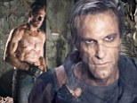 Frankenstein's monster as you've never seen it before! Shirtless Aaron Eckhart plays the man made zombie as sexy hero