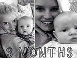 My, how he's grown! Jessica Simpson is a proud mama as she shares touching snapshots of her baby boy Ace