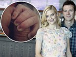 New addition! Jaime King and husband Kyle Newman welcome first child together and post Instagram photo of baby's tiny fingers