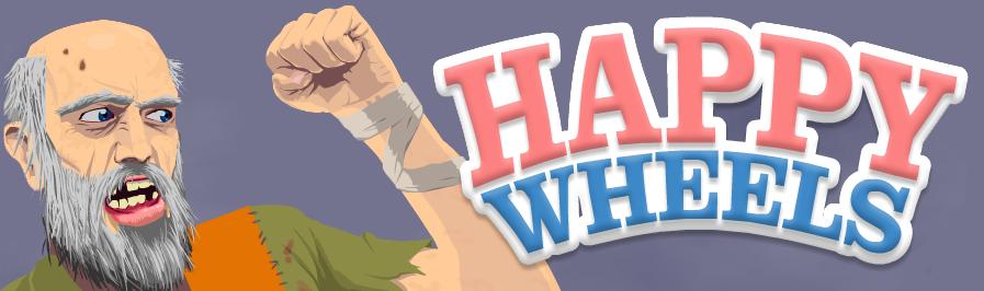 Play Happy Wheels Unblocked - Logo