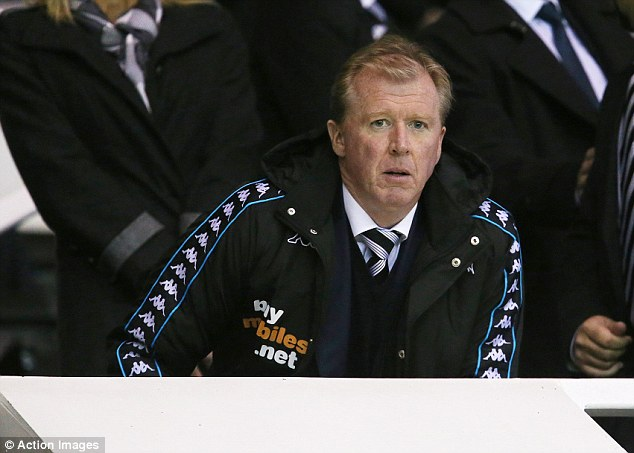 Opposing view: McClaren, who took charge of his first match against Leeds United on Saturday, cast doubt on the use of a technical director in his first programme column