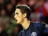 Hero: Adnan Januzaj scored twice for Manchester United against Sunderland on Saturday