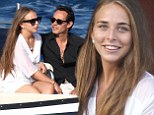 Loved-up Chloe Green and Marc Anthony sup champagne cocktails while enjoying romantic break in Italy