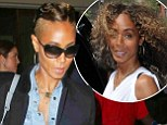Jada Pinkett Smith unveils edgy new buzz cut as she touches down in LA with daughter Willow