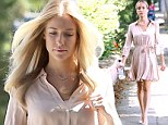 She needed that! Kristin Cavallari goes from shabby chic to camera ready thanks to a day in a West Hollywood salon