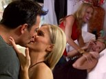 Joanna Krupa works through problems with Romain at sex therapy... but not before getting a lap dance from Lisa Hochstein
