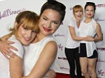 A very sweet 16! Bella Thorne rings in milestone birthday on the red carpet with sister Kaili at jeans event