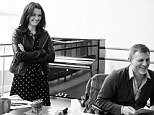 The trio of thespians were at a workshop, under the tutelage of stage and screen director Mike Nichols